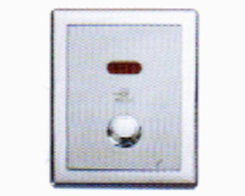 浙江1F106D按钮式暗装电池式感应大便阀